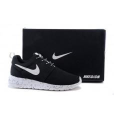 Nike Roshe Run 2015 NEW light grey с белой подошвой в черную точку